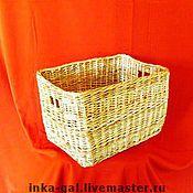 Для дома и интерьера ручной работы. Ярмарка Мастеров - ручная работа Короб из лозы. Handmade.