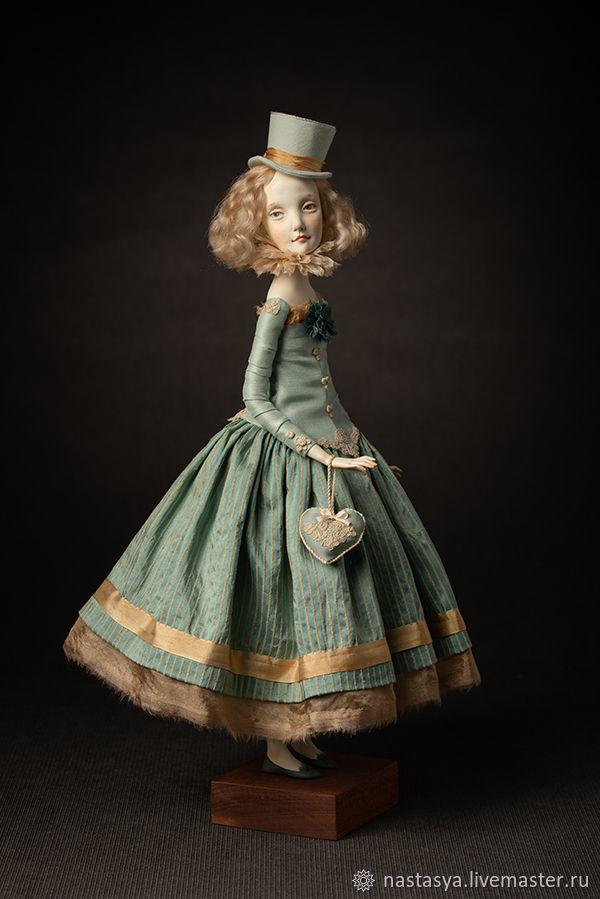 Авторская кукла Алиция, Интерьерная кукла, Москва,  Фото №1