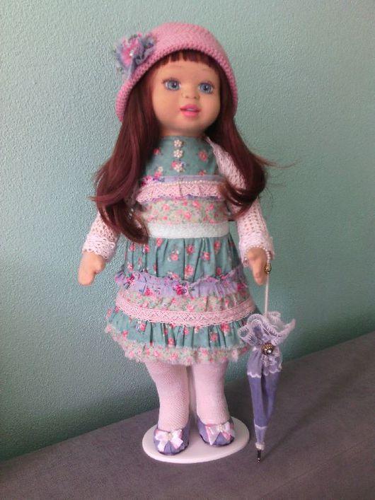 Коллекционные куклы ручной работы. Ярмарка Мастеров - ручная работа. Купить Текстильная,коллекционная кукла.. Handmade. Кукла ручной работы