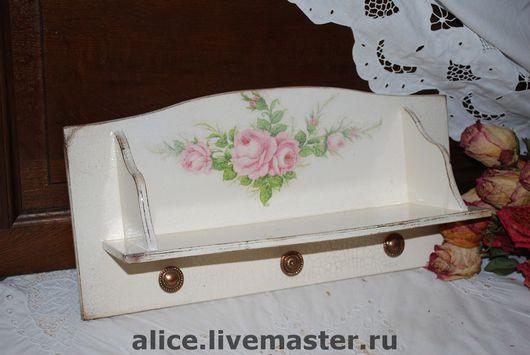 """Мебель ручной работы. Ярмарка Мастеров - ручная работа. Купить """"Розовый сон"""" полка. Handmade. Полка, эксклюзивный подарок"""