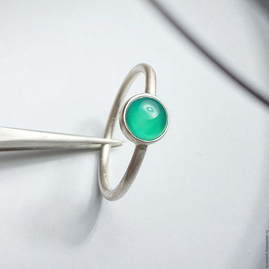 """Кольца ручной работы. Ярмарка Мастеров - ручная работа. Купить Кольцо,с хризопразом """" Зелень"""". Handmade. Кольцо с камнем"""