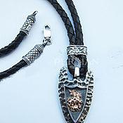 Украшения handmade. Livemaster - original item Suspension George the Victorious silver. Handmade.
