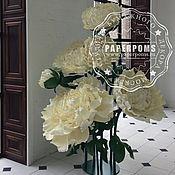 Свадебный салон ручной работы. Ярмарка Мастеров - ручная работа Пион (гигантский куст 2.3м). Handmade.