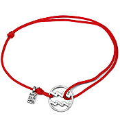 Украшения handmade. Livemaster - original item Aquarius bracelet rope. Handmade.
