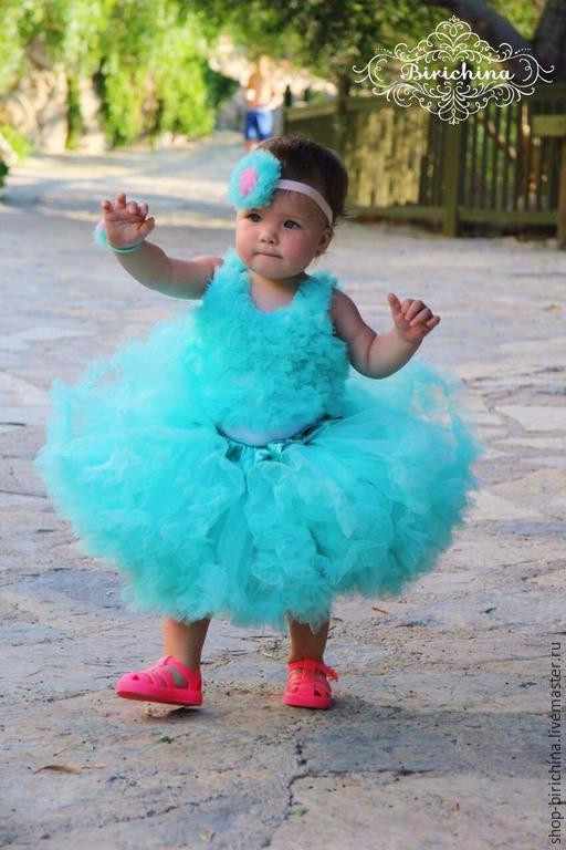 Одежда для девочек, ручной работы. Ярмарка Мастеров - ручная работа. Купить Пышный комплект на любой праздник для принцессы. Handmade. Разноцветный