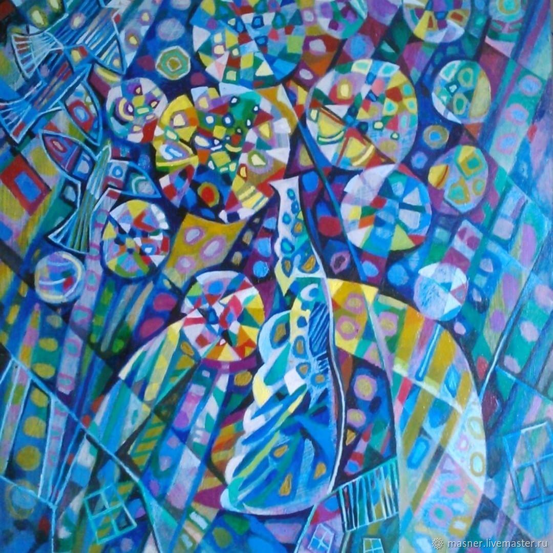 Так вот что Вселенную держит - Горящая тайна Творца, Картины, Москва,  Фото №1