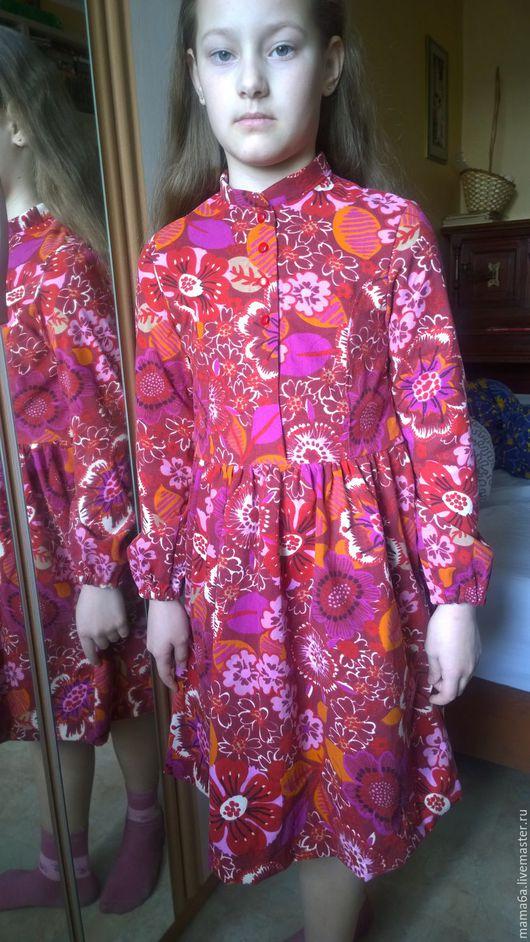 Одежда для девочек, ручной работы. Ярмарка Мастеров - ручная работа. Купить Нарядное платье. Handmade. Цветочный, платье для девочки