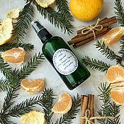 Косметика ручной работы handmade. Livemaster - original item A mix of natural hydrolates Spruce, tangerine and cinnamon. Handmade.