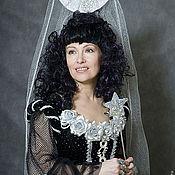 Одежда ручной работы. Ярмарка Мастеров - ручная работа черная фея. Handmade.