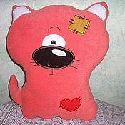 """Куклы и игрушки ручной работы. Ярмарка Мастеров - ручная работа игрушка-подушка """"Кот"""". Handmade."""