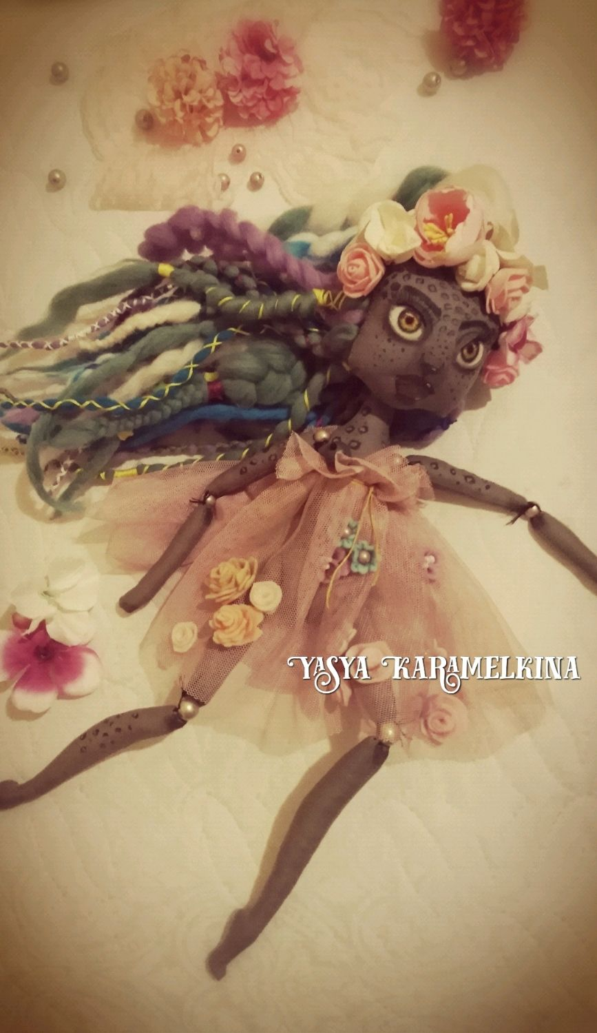 Авторская кукла, Шарнирная кукла, Астрахань,  Фото №1