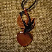 Украшения ручной работы. Ярмарка Мастеров - ручная работа Сердоликовое сердце. Handmade.