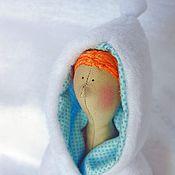 Куклы и игрушки ручной работы. Ярмарка Мастеров - ручная работа Кукла в стиле Тильда Зимняя девочка. Handmade.