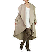 Одежда handmade. Livemaster - original item Light coats, womens Coats, Fashion coats, Cashmere coats. Handmade.