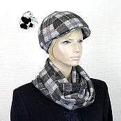 Аксессуары handmade. Livemaster - original item kit. Youth women`s cap plus LIC. The seven colors. No. №1. Handmade.