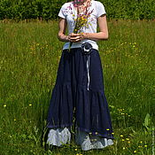 Одежда handmade. Livemaster - original item Set of skirts in Bohemian style