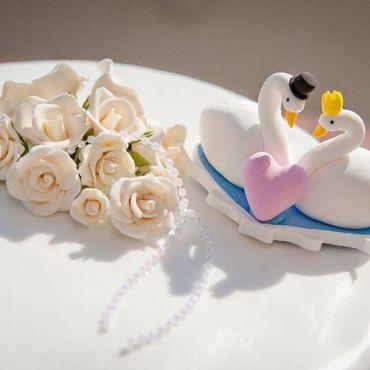 Свадебный салон ручной работы. Ярмарка Мастеров - ручная работа Фигурки на торт. Handmade.