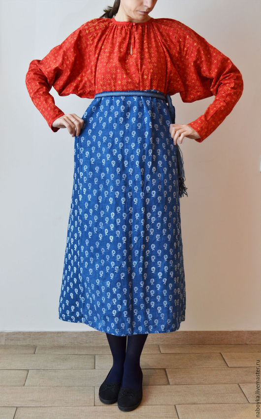 Одежда ручной работы. Ярмарка Мастеров - ручная работа. Купить Рубаха-покосница.. Handmade. Покосница, русский стиль, традиционная одежда
