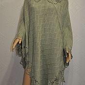 Одежда handmade. Livemaster - original item Knitted poncho. Handmade.