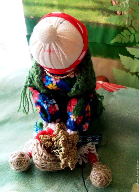 Народные куклы ручной работы. Ярмарка Мастеров - ручная работа. Купить Бабка харАктерная. Handmade. Оберег для женщины, народная игрушка