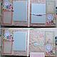 Фотоальбомы ручной работы. Нежный альбом для малышки. Marina Lampetova. Ярмарка Мастеров. Фотоальбом, маме и малышке, малышке