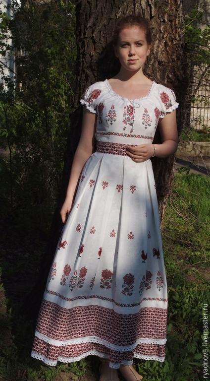 """Платья ручной работы. Ярмарка Мастеров - ручная работа. Купить Платье """"Мечта"""". Handmade. Платье в пол, льняная одежда"""