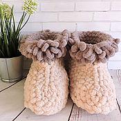 Обувь ручной работы handmade. Livemaster - original item Plush Slippers - ugg boots. Handmade.