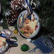 Подарки к праздникам handmade. Livemaster - original item Set of Christmas toys