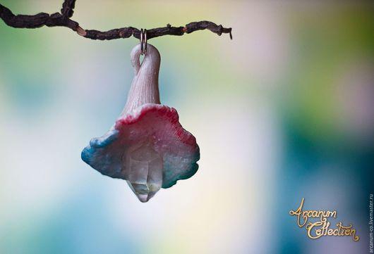 Кулоны, подвески ручной работы. Ярмарка Мастеров - ручная работа. Купить Кулон Mycota crystallum. Handmade. Комбинированный, кристалл кварца