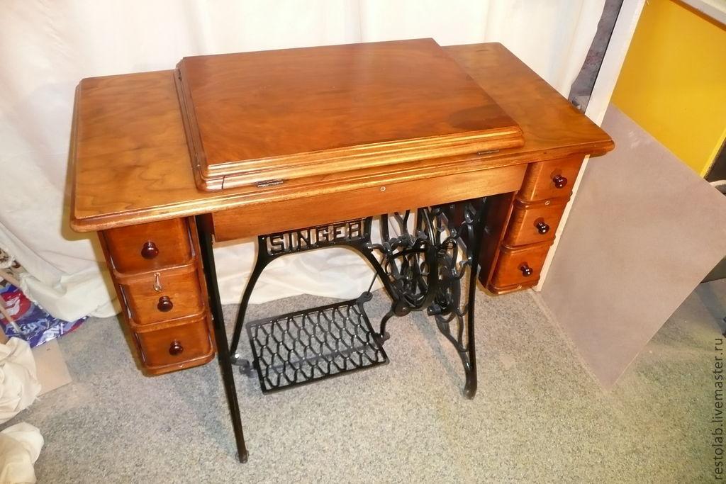Реставрация швейной машинки зингер своими руками 957
