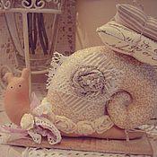Куклы и игрушки ручной работы. Ярмарка Мастеров - ручная работа Тильда Улиточка. Handmade.