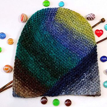 Accessories handmade. Livemaster - original item Knitted women`s hat cap or lapel. Handmade.
