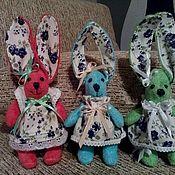 Куклы и игрушки ручной работы. Ярмарка Мастеров - ручная работа Зайки Тильда. Handmade.