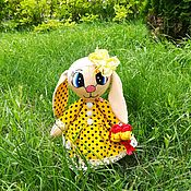 Куклы и игрушки handmade. Livemaster - original item Honey Cutie-the growth of 32cm and is able to sit and stand. Handmade.