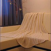 Для дома и интерьера ручной работы. Ярмарка Мастеров - ручная работа Теплый плед. Handmade.