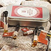Косметика ручной работы. Ярмарка Мастеров - ручная работа Окутывающие и теплые ароматы, набор пробников натуральных духов. Handmade.