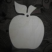Заготовки для декупажа и росписи ручной работы. Ярмарка Мастеров - ручная работа Яблоко, груша доска декоративная. Handmade.