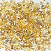 Материалы для творчества handmade. Livemaster - original item 10 gr Toho MIX 3206 Gold Japanese beads TOHO. Handmade.