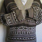 """Одежда ручной работы. Ярмарка Мастеров - ручная работа Пуловер """"Орнамент"""". Handmade."""