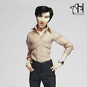 Куклы и игрушки handmade. Livemaster - original item Sherlock (1) and (2) (13.5 cm). Handmade.