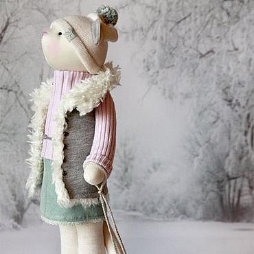 """Кошка """"Белым, белым кроет снегом..."""""""