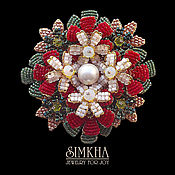 Украшения handmade. Livemaster - original item Brooch No. №3 from the collection
