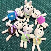 Куклы и игрушки ручной работы. Ярмарка Мастеров - ручная работа Кролик 12см. Handmade.
