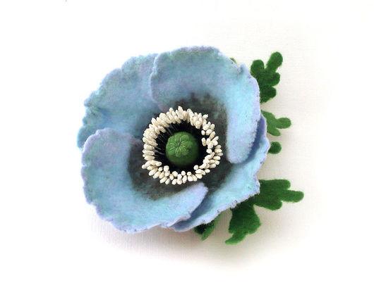 Голубой мак. Диаметр цветка без листвы 8 см. Улетел в Норвегию.