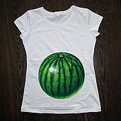 Одежда handmade. Livemaster - original item T-shirt for pregnant women