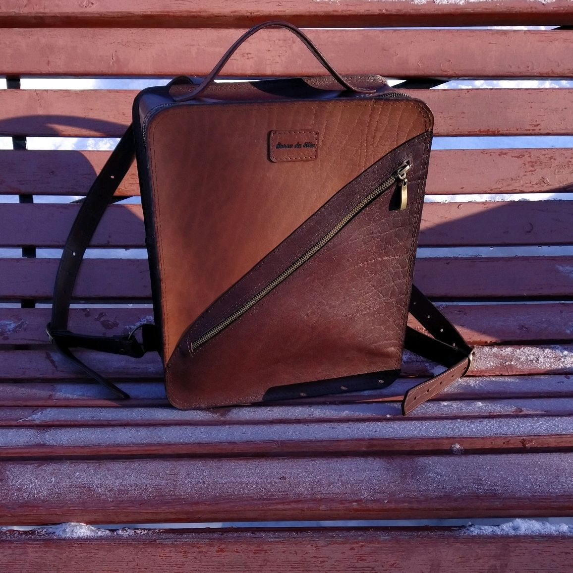 Рюкзак кожаный Borsa da Rita, Рюкзаки, Мурманск,  Фото №1