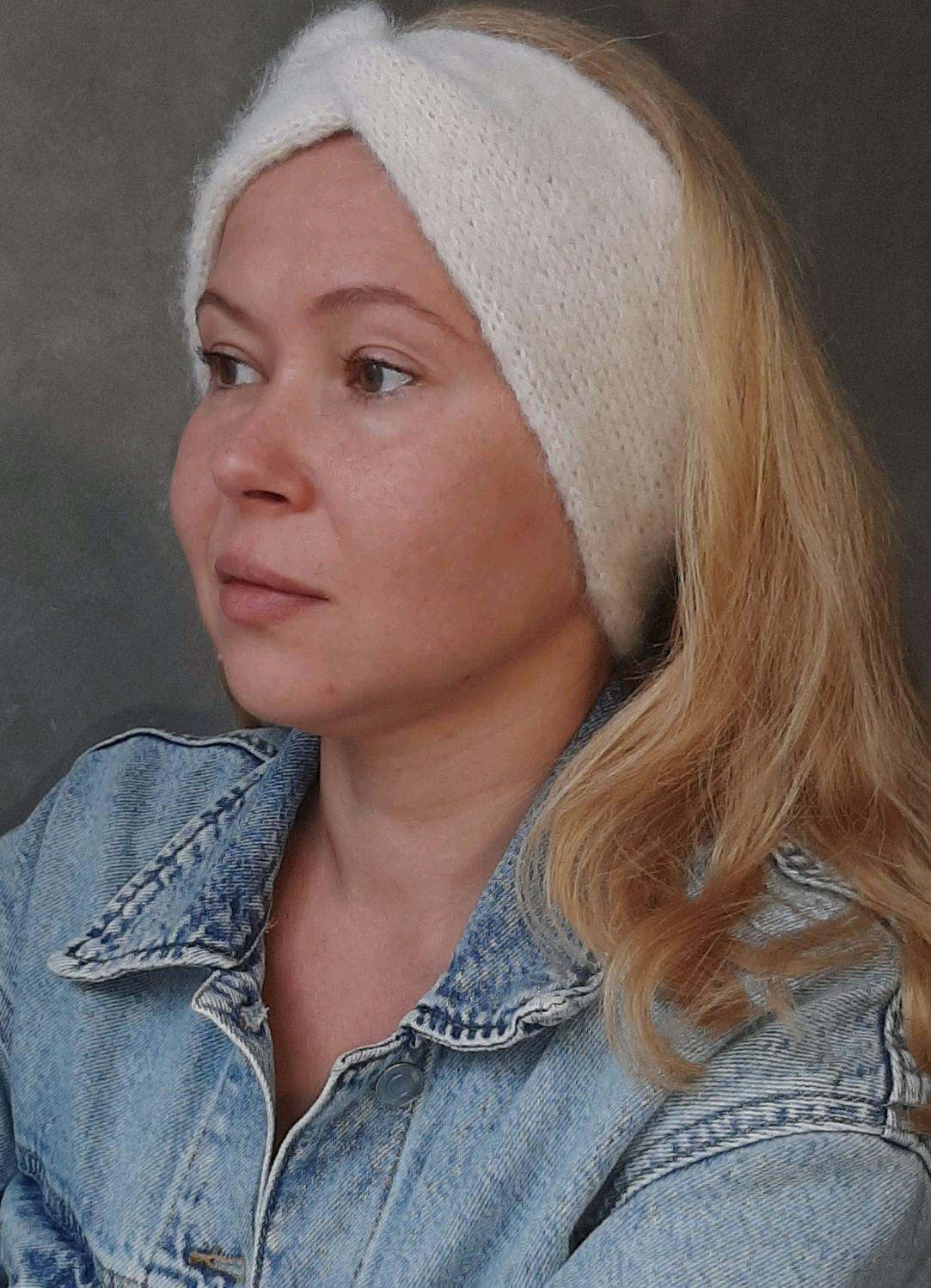 Double headband on the head ' Lily', Bandage, Moscow,  Фото №1