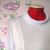 Одежда ручной работы. Ярмарка Мастеров - ручная работа блузка Офисный стиль. Handmade.