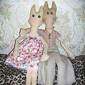 """Куклы и игрушки ручной работы. Ярмарка Мастеров - ручная работа Кошки- """"Сладкая   парочка"""". Handmade."""