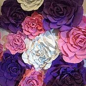 Панно из роз (2х1,5м)